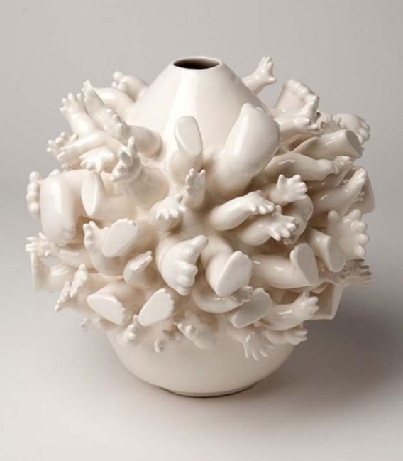 Jarrón de cerámica Together