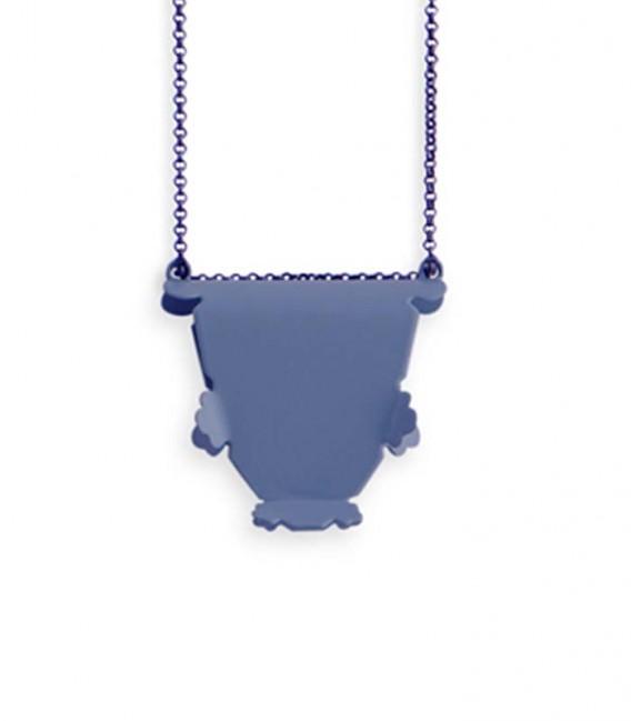 Collier bleu Agustina