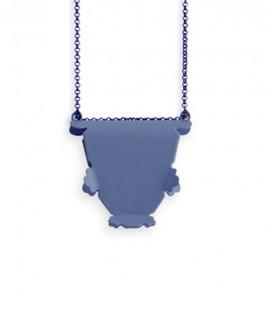Collar azul Agustina