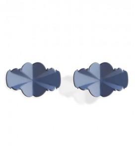 Boucle d'oreilles bleues Reine Adela
