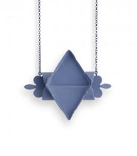 Collier bleu Gertrudis