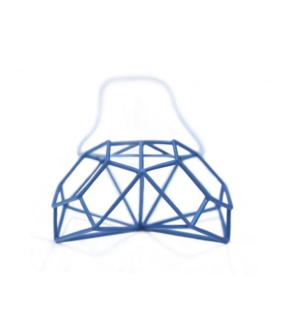 Collier bleu Siamois Z