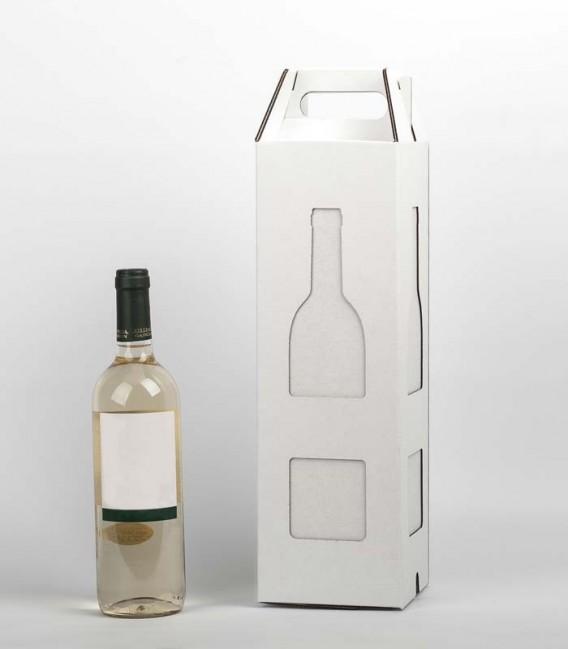 Lampe design et étui cadeau bouteille de vin - Baco