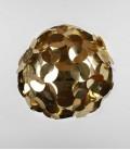 Abat-jour suspension sphère dorée - Ego Dama