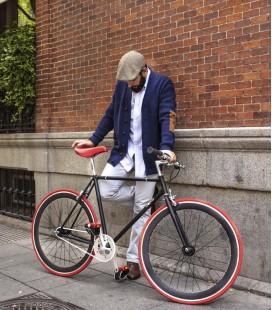 Vélo urbain fixie au design tout en couleurs Soho
