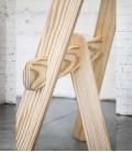Tréteaux de design en bois massif - Trespatas