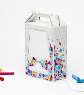 Lampe de table à décorer - Flamp style Gaudi