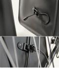 Sacoche de vélo arrière amovible pratique pour se déplacer en liberté