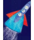 Vaisseau spatial - reproduction d'art signée par l'artiste