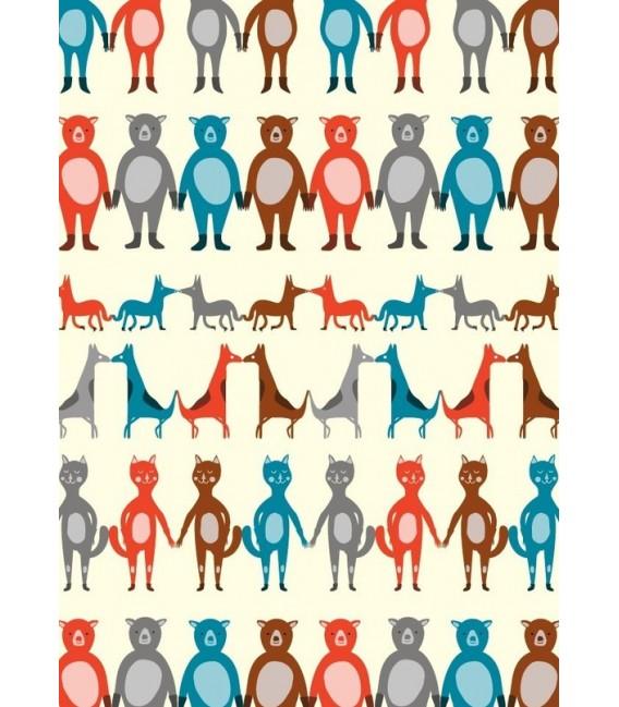 Animales - ilustración firmada por el artista