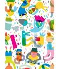 La fiesta nº 3 - ilustración firmada por el artista