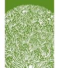 Arbre vert - reproduction d'art signée par l'artiste