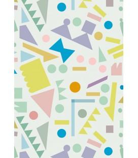 Formes géométriques - reproduction d'art signée par l'artiste