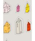 Maisons transparentes - reproduction d'art signée par l'artiste