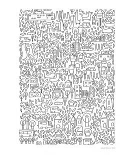 El barro nº2 - ilustración firmada por el artista