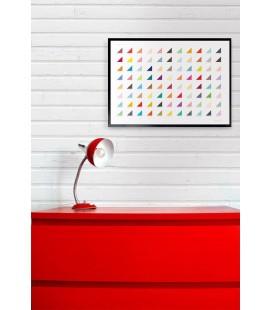 Paleta de colores - ilustración firmada por el artista