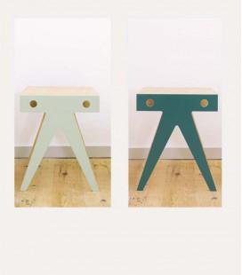 Pupitre de madera para niños de diseño minimalista- Walrus