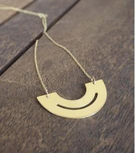 Collar de diseño contemporáneo y minimalista Disc Hole