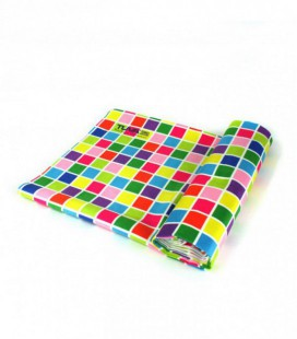Toalla de microfibra de diseño original y colorido - geométrico 1