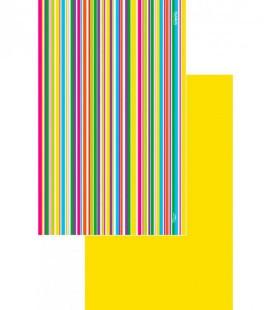 Serviette en microfibre au design original et coloré - géométrique 4