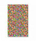 Serviette en microfibre au design original et coloré - géométrique 8