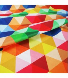Toalla de microfibra de diseño original y colorido - cubo2