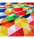 Serviette en microfibre au design original et coloré - cube2