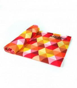 Toalla de microfibra de diseño original y colorido - cubo 3
