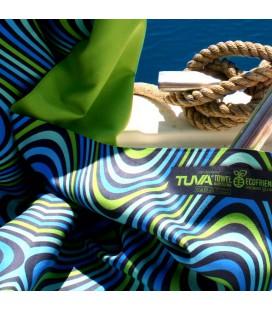 Serviette en microfibre au design original et coloré - vague 2