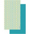 Serviette en microfibre au design original et coloré - vague 5