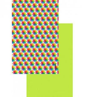 Toalla de microfibra de diseño original y colorido - icono 1