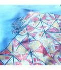 Serviette en microfibre au design original et coloré - fête foraine 3
