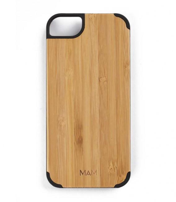 Coque originale en bois pour iPhone 5 - Design uni