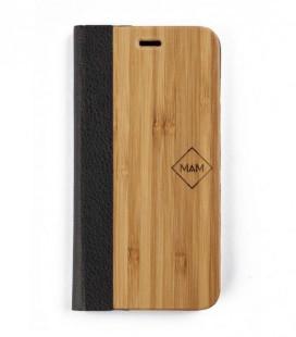 Carcasa original de madera para iPhone 6 - Diseño libro de bambou