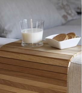 Plateau flexible en bois adaptable à votre lit ou canapé - Detray