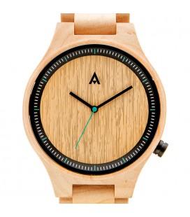 Reloj de madera de diseño elegante - Colección unisex THE OWL