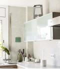 Lámpara de sobremesa plateada y reciclable - Flamp plata