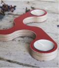 Bougeoir design pour bougie d'ambiance Tesela