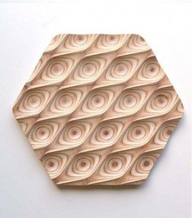Salvamanteles de diseño en madera Drops