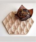 Salvamanteles de diseño en madera Points