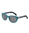 Gafas de sol - Seda turquesa 01