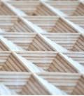 Dessous de plat design en bois Diamonds