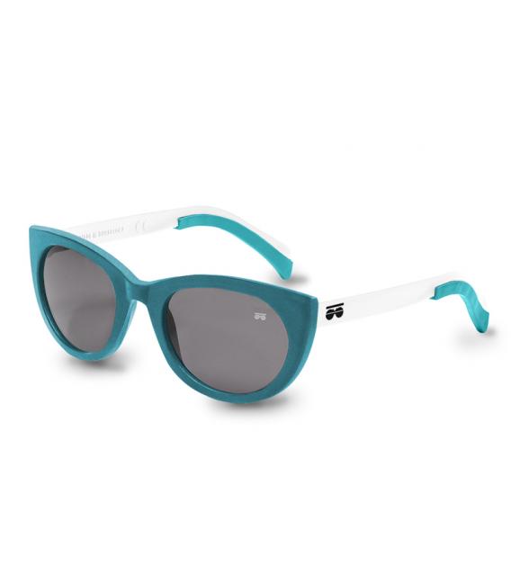 Gafas de sol - Seda turquesa 03