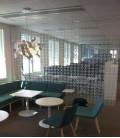 Cortina, divisor de ambientes, decoración de pared - Joyn Original