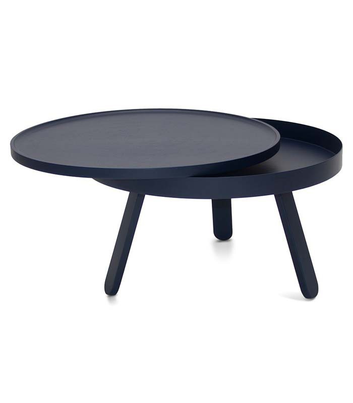 Table basse trois pieds maison design for Table basse design nordique