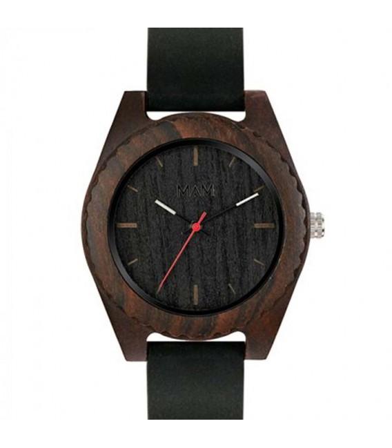 Reloj de madera de dise o elegante mal black edition - Relojes de diseno ...