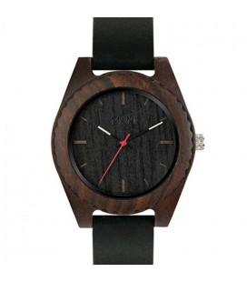 Reloj de madera de diseño elegante- Malú Black edition para mujer