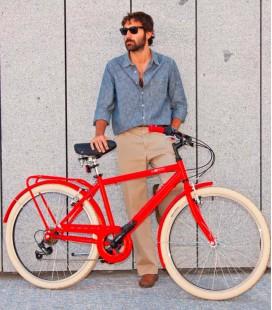 Bicicleta urbana para hombre- Milano