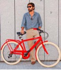 Vélo de ville pour homme Milano