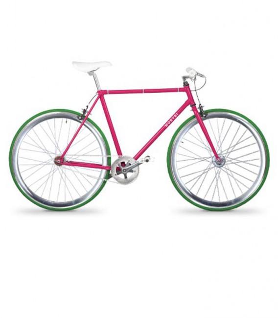 Bicicleta urbana de pista con velocidades - Polanco